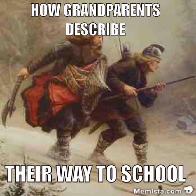 grandparents school history